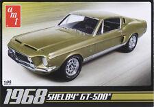AMT 68 Shelby GT500 Mustang 1/25 plastic model car kit new 634