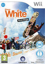 Jeu Wii Shaun white snowboarding