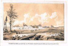 FOGGIA - CAPITANATA - PUGLIA - Litografia - Cirelli - 1855