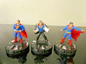 DC HEROCLIX SUPERMAN LOT~