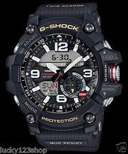 GG-1000-1A Schwarzer Herren Kompass Casio G-Shock Analog MASTER G MUDMASTER