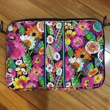 """Vera Bradley Lap Top Bag 12""""x 17"""" Bloom Work Pattern"""