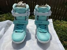 Powerslide Phuzion Radon Teal sz 39/7m Inline Skate boots only