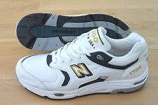 New Balance 1700 M1700WN size US 11 EUR 45 White Leather Made in the USA NEW!