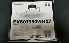 "Envirolite EV607950WH27 Interior 5-6"" white LED recessed downlight NEW!!"