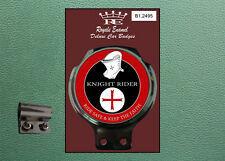 Royale Classic Car Badge & Bar Clip KNIGHT RIDER RIDE SAFE KTF Mod B1.2495