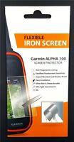 Garmin Alpha 100 GVDS Screen Saver Flexible Iron Protector Shatter Proof