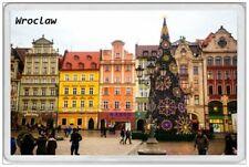 WROCLAW - JUMBO FRIDGE MAGNET - POLAND POLSKA POLISH WARSAW GDANSK KRAKOW MARKET