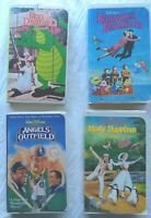 Mary Poppins Angels Outfield Pete's Dragon Bedknobs Broomsticks Disney VHS Lot