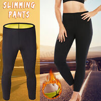 Hot Sweat Sauna Body Shaper Pants Neoprene Women Slimming Thermo Gym Trousers G1