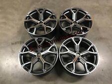 """20"""" X5 X6 741M Style Alloy Wheels - Gun Metal Machined - BMW E70 E71 F15 F16"""
