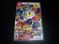 Replacement Case (NO GAME) Super Bomberman R Nintendo Switch Box Original