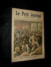 Original NOV 1 1896 FRENCH LE PETIT JOURNAL Alsaciens-Lorrains MUSHROOM ART