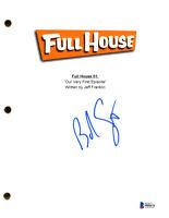 BOB SAGET SIGNED AUTOGRAPHED FULL HOUSE SCRIPT EPISODE 1 BRAND NEW BECKETT BAS