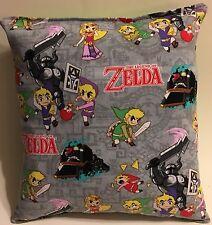 Zelda Pillow The Legend Of Zelda Pillow Nintendo Game Pillow Made in USA