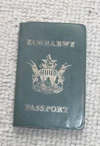 Old Zimbabwe Passport