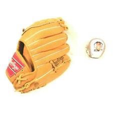 "Rawlings Leather Baseball Glove 11"" RHT Ken Griffey Jr. RBG90 & Twins Basebeball"