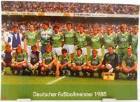 Werder Bremen + Deutscher Fußball Meister 1988 + Fan Big Card Edition F52 +