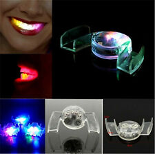 LED Light Up Flashing Glow Mouth Teeth Accessory Party Cosplay Fun New