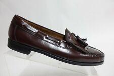 FLORSHEIM Red Sz 10 D Men Tassel Kiltie Slip-On Loafers