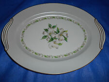 "NORITAKE Edgemont Medium 13.75"" Oval Serving Platter 5216"