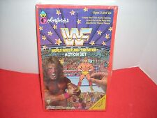 WWF 1980 COLORFORMS ACTION SET NEVER USED STILL IN PACKING