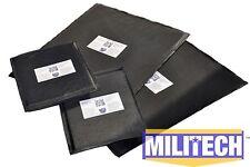 Ballistic Panel Bullet Proof Plate Inserts Body Armor Lvl IIIA 3A 11x14 6x8 Pair