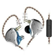 KZ ZS10 Pro Metal Headset 4BA+1DD Hybrid HIFI Bass 10unit Earbud Earphone w/ Mic