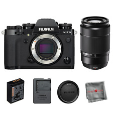 Fujifilm X-T3 Mirrorless Digital Camera with Xc 50-230mm f/4.5-6.7 Ois Ii Lens