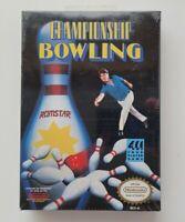 Championship Bowling Nintendo NES Brand New Factory Sealed Romstar