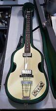 HOFNER PROTOTYPE VINTAGE '63 Electric Violin Bass **HSC** White