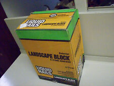 LIQUID NAILS LN-905 Landscape Block & Stone Adhesive CASE OF 12 TUBES (10-Ounce)
