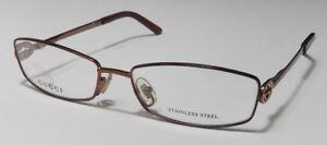 GUCCI 2789 STAINLESS STEEL SLEEK EYEGLASSES/EYEWEAR/EYEGLASS FRAME ORIGINAL CASE