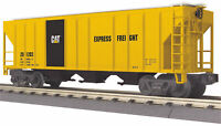 MTH Railking O Trains Caterpillar PS-2 Discharge Hopper Car 30-75419