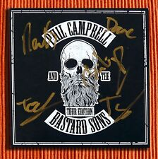Signed PHIL CAMPBELL AND THE BASTARD SONS  Rare Tour Edition EP  Motorhead   NEW
