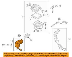 GM OEM Air Cleaner Intake-Air Baffle 84369893