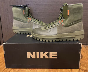Nike Xarr Size 10.5 Medium Olive Hiking Boot BQ5240 200