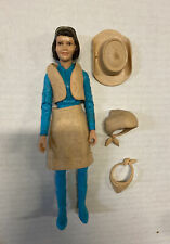 Vintage 1960's Janice West Marx Toy Action Figure Johnny West Series Free Shippg