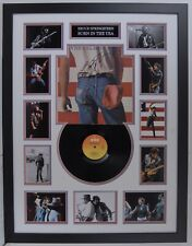 Bruce Springsteen Signed & FRAMED BORN IN THE USA VINYL AFTAL COA (B)