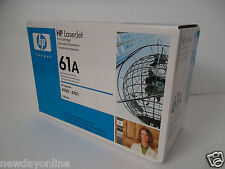HP OEM 61A Black LaserJet Toner Cartridge 4100 4101 4101mfp 6K-Pages C8061A NEW