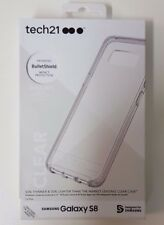 Tech21 Pure Protective Case Cover Samsung S8 Slim Shockproof T21-5583 - Clear