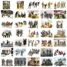 Master Box: German Soldiers in WWII - 35 multiple variations plastic kits 1:35