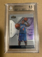 2004 NATE ROBINSON FINEST ROOKIE RC BGS 9.5 GEM MINT /599