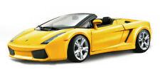 Lamborghini Gallardo Spyder 2006 Yellow 1:18 Model 12016Y BBURAGO