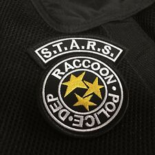 Embroidered Resident Evil S.T.A.R.S RACCOON POLICE DEP Tactical Morale Patch