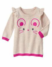 NWT Gymboree WOODLAND WONDER Size 5T Mouse Sweater Dress