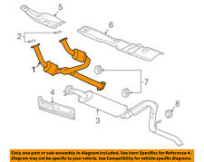 GM OEM-Exhaust System-Catalytic Converter & Pipe 15813517