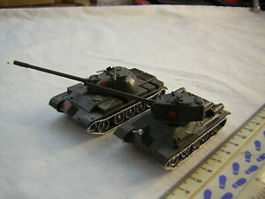 2 X Roco DBGM Modern Russian Military Tanks T-34 & T-55 Scale 1:87 20mm / 15mm