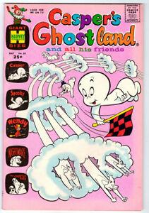 CASPER'S GHOSTLAND #60 in NM condition a Harvey 1971 comic w/ SPOOKY & WENDY
