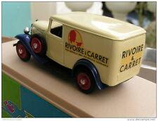 ELIGOR 1:43 AUTO DIE CAST CITROEN CAMIONNETTE 500 KILOS 1939 RIVOIRE&CARRET 1024